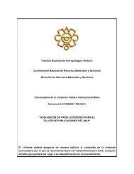Papel Extendido - Instituto Nacional de Antropología e Historia