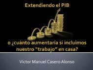Una cuenta satélite de los hogares en España