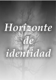 Horizontes de identidad - La Reja en el Aire