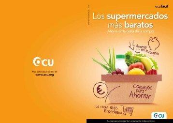 Los supermercados - Ocu