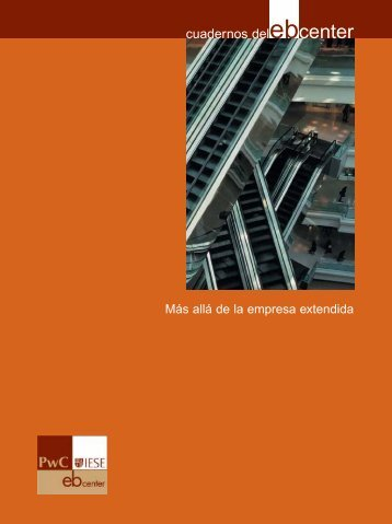 Más allá de la empresa extendida - IESE Business School
