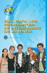 Guía para los estudiantes de Intercambio de Jóvenes (PDF) - Rotary ...