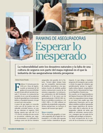 ranking de aseguradoras - Revista Mercados & Tendencias