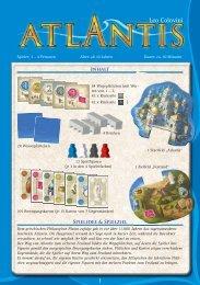 Download Spielanleitung von Atlantis - Brettspiele-Report