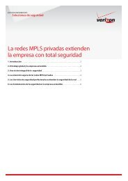 La redes MPLS privadas extienden la empresa ... - Verizon Business