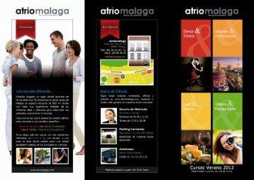 Fotografía de página completa - Atrio Malaga