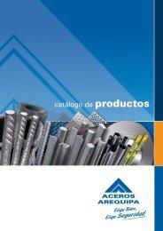 Catálogo de productos - Corporación Aceros Arequipa