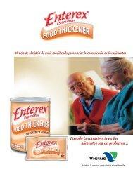Enterex Espesante - Victus, Inc