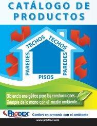 CATÁLOGO DE PRODUCTOS - Prodex