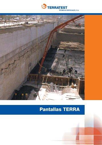 Pantallas TERRA - Terratest