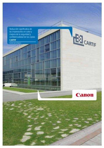 Vea el caso de éxito en PDF - Canon