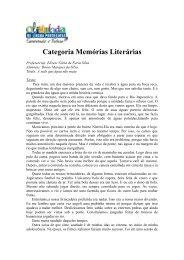 Categoria Memórias Literárias - Globo