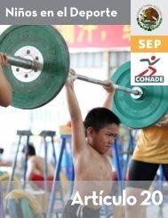 20 niños en el deporte - Conade