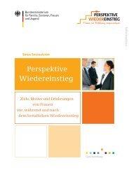 Perspektive Wiedereinstieg - Bundesministerium für Familie ...