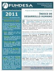 ÍNDICE DE DESARROLLO HUMANO - Fundesa