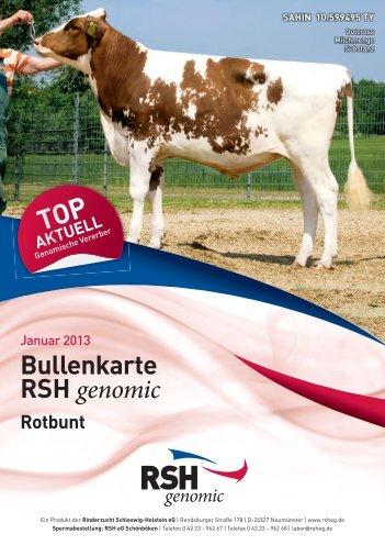 Genomische Zuchtwerte - Rinderzucht Schleswig-Holstein e.G.