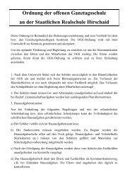 Ordnung der offenen Ganztagsschule an der Staatlichen Realschule ...