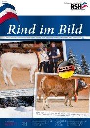 Rind im Bild - Rinderzucht Schleswig-Holstein e.G.
