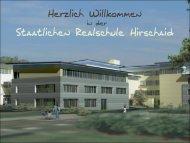 Staatlichen Realschule Hirschaid - Staatliche Realschule Hirschaid