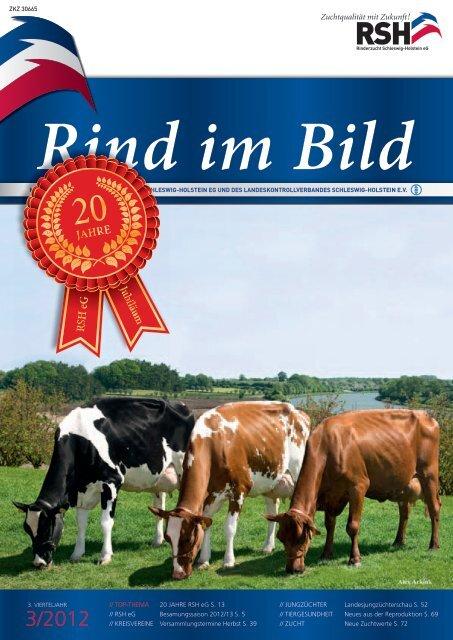 // Rind im Bild 3/2012 1 - Rinderzucht Schleswig-Holstein e.G.