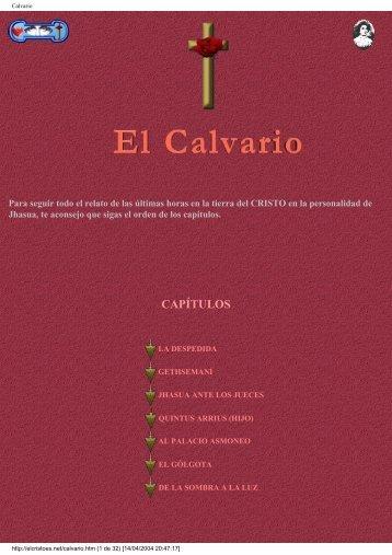 CAPÍTULOS - El CRISTO, Instructor de humanidades