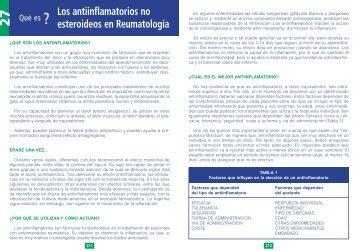 Los antiinflamatorios no esteroideos en Reumatología
