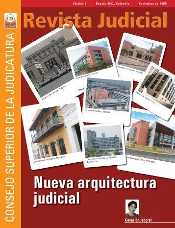 Contenido Revista Judicial Edicion 2 - Rama Judicial