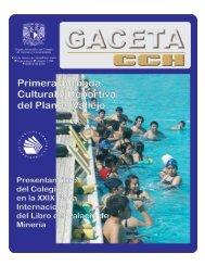 Número 1159 25 de febrero de 2008 - CCH - UNAM