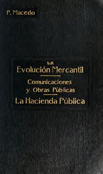 La evolución mercantil, communicaciones y obras públicas la ...