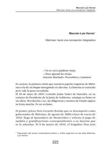 Marcelo Luis Vernet - Ministerio de Relaciones Exteriores y Culto