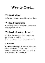 Silvester: Große Silvesterparty. - Ambianer
