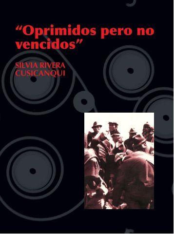 Oprimidos pero no vencidos - II ENCUENTRO INTERNACIONAL DE ...