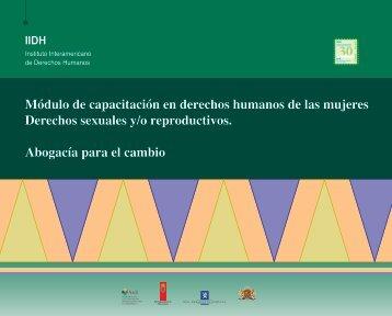 Módulo de capacitación en derechos humanos de las ... - IIDH