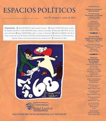 ESPACIOS POLÍTICOS - Universidad Rafael Landívar