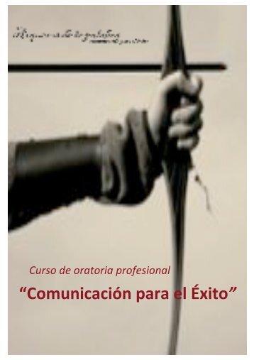 Handout curso 18h. Comunicación para el Éxito - Taller Diamante