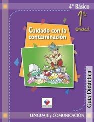 4° Básico Cuidado con la contaminación - Biblioteca UAH