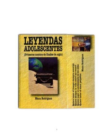 Leyendas Adolescentes - Manu Rodríguez
