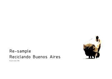 Re-sample Reciclando Buenos Aires