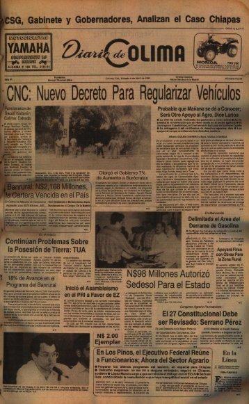 ,,CNC: Nuevo Decreto Para Regularizar Vehiculos - Universidad de ...