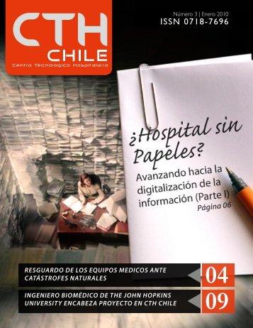 resguardo de los equipos medicos ante catástrofes ... - CTH Chile