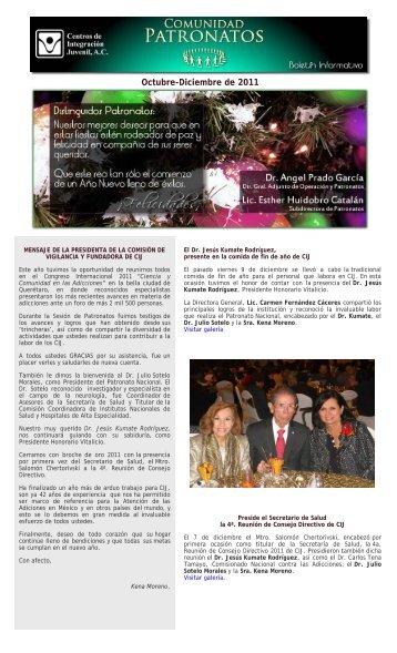 CIJ Boletín Patronatos - Centros de Integración Juvenil