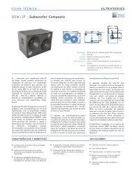USW-1p : Subwoofer Compacto - Meyer Sound Laboratories Inc.