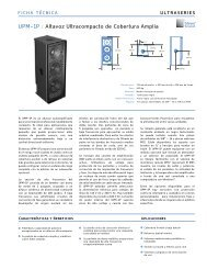 UPM-1P - Meyer Sound Laboratories Inc.