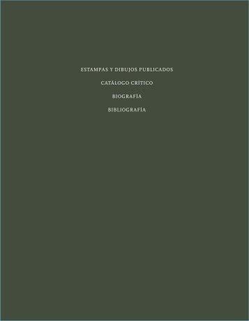 Estampas y dibujos publicados catálogo crítico ... - le laboratoire