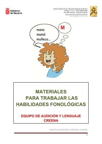 Habilidades fonológicas - CREENA - Navarra