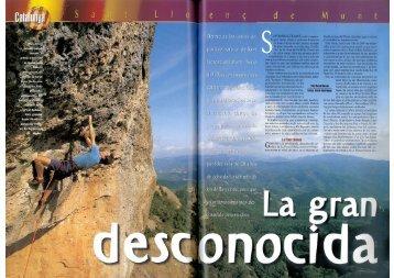 Escalar-Cerda - Escalada a Sant Llorenç del Munt