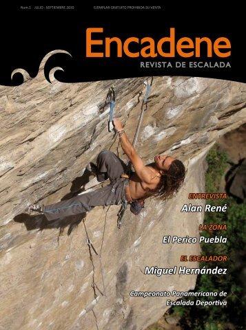 ENCADENE es una revista de escalada