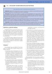 Evolución y ecoeficiencia del sector pesca - Observatorio de la ...