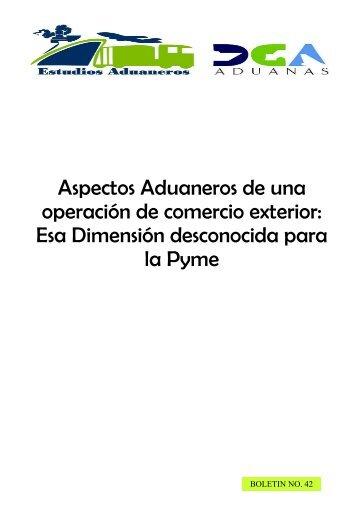 (Boletin No. 42 de Estudios Aduaneros sobre ... - DGA - gob.do