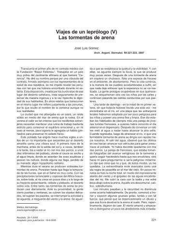 Descargar PDF - Archivos Argentinos de Dermatología
